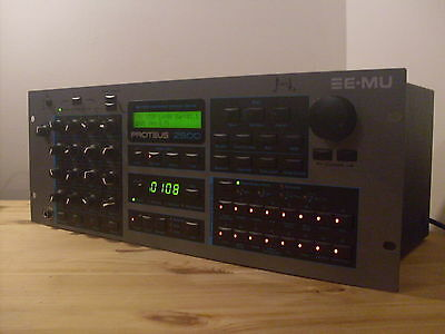Emu Proteus 2500 Synthesizer Sequencer With Composer Rom & Free Uk Shipping