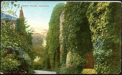 Postcard - Berkshire - Abbey Ruins, Reading