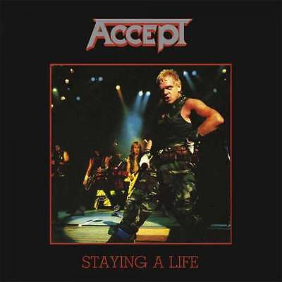 Accept - Staying A Life NEW 2 x LP