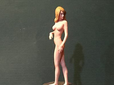 1/24 1/25 or G Scale Resin Model Kit, Sexy action figure Girl Zoe