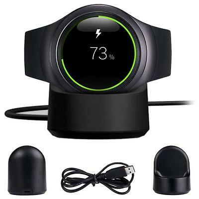 Wireless Charging Dock Cradle Charger For Samsung Gear S3 720 730 732 Classic UK
