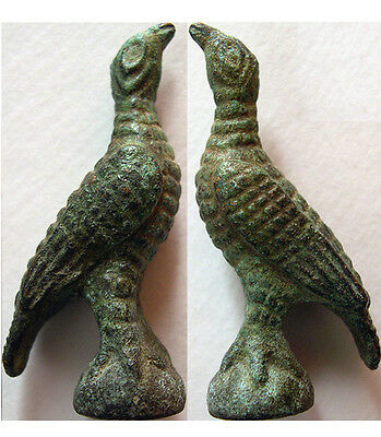 PCW-AN240-ROMAN BRONZE EAGLE. Ca. 2nd-4th. Century AD.