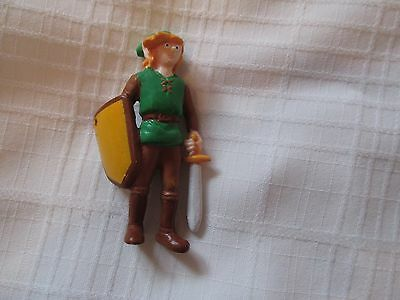 VINTAGE 1989 NINTENDO PVC LINK FIGURE APPLAUSE THE LEGEND of ZELDA