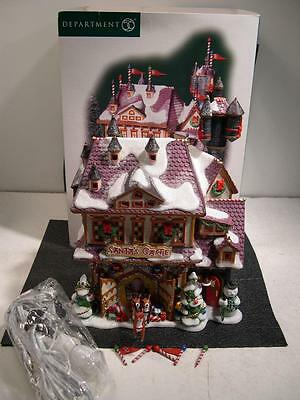 Dept 56 Santa's Castle North Pole Rudolph Limited Year of Production 56768 Nice