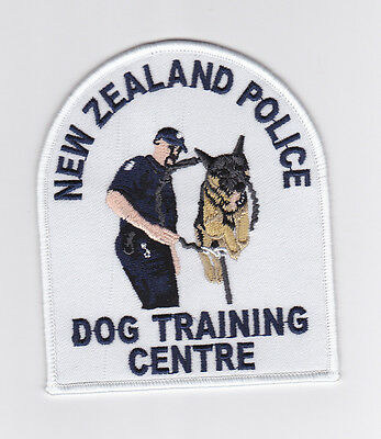 New Zealand Police Dog Training Centre Patch (social)