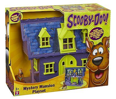 NEW Scooby Doo Mystery Mansion Haunted playset with figure