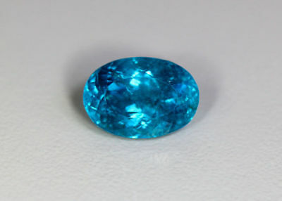 9.59 Cts █ World Gem Ocean █100 % Natural UNHEATED Brazilian Hauyne Blue Apatite