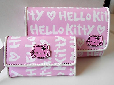 HELLO KITTY Wallet & Key Holder Set Collectable Classic RARE SET