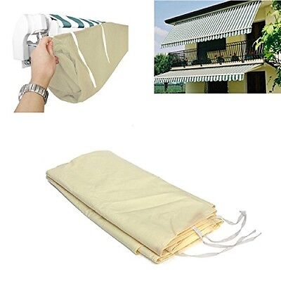New Beige Yard Outdoor Awning Sun Canopy Winter Storage Bag Rain Cover Protector