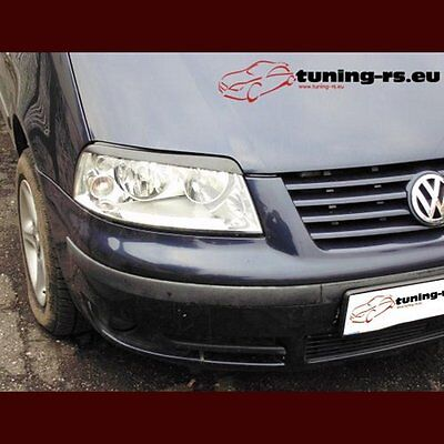 VW SHARAN CASQUETTES DE PHARES (ABS) tuning-rs