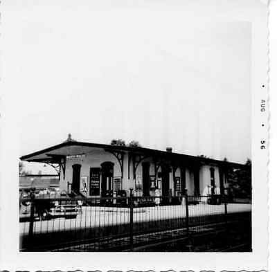 6J763 Rp 1956 Reading Railroad Train Station North Wales Pa