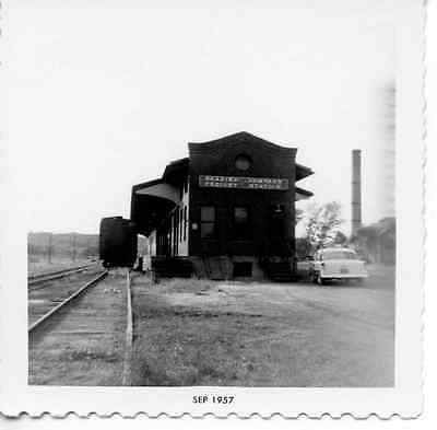 6J736 Rp 1957 Reading Railroad Train Freight Station Gettysburg Pa