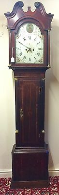 Antique Oak & Mahogany Longcase Clock by Jn. Chambler, W: Hampton