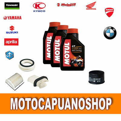 Replacement Kit Yamaha T Max 500 Oil Filters 04 2005 06 2007 Motul 7100 10W40