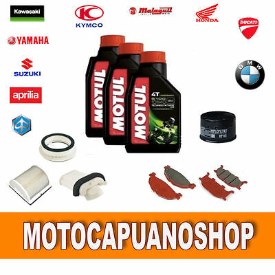 Replacement Kit Yamaha T-Max 500 2001 2002 2003 Pads Oil Motul Filters