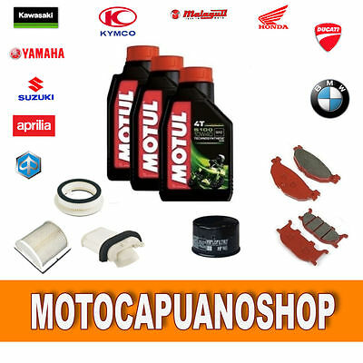 Replacement Kit Yamaha T Max 500 2001 2002 2003 Pads Oil Motul Filters