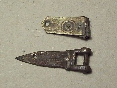 2 small book clasps 16th/17th century  Metal Detecting Finds