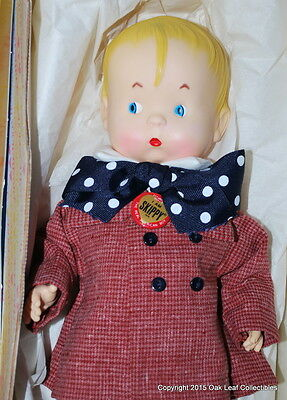 Vintage Effanbee Skippy Reproduction Doll - 12 inches Mint in box Complete!