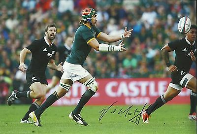 South Africa Rugby Victor Matfield Signed Autographed Photo + Coa