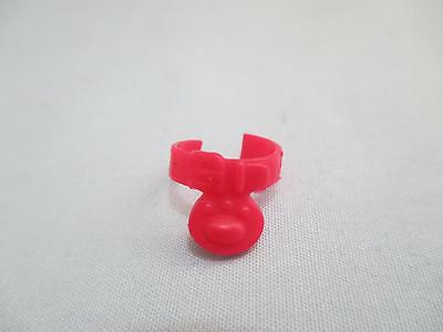 Littlest Pet Shop Red Paw Print Collar Accessory 100% Authentic