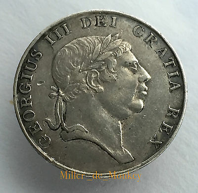 Ireland 1813 George III Silver Ten Pence Irish Bank Token: Rare Collectable Coin