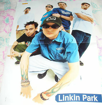 German Popcorn Centerfold Poster With Linkin Park