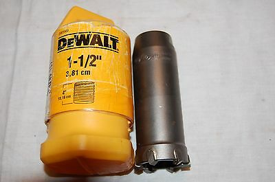 "DeWalt DW5900 1-1/2"" X 4"" Core Bit Body"