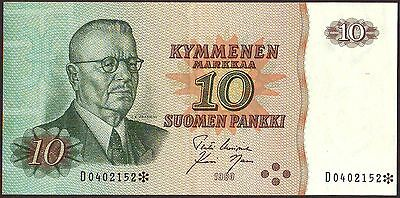 Finland  10 Markkaa  1980   Replacement  P111r1