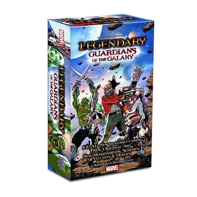 Marvel Legendary Deck Building Guardians Of The Galaxy Expansion Brand New