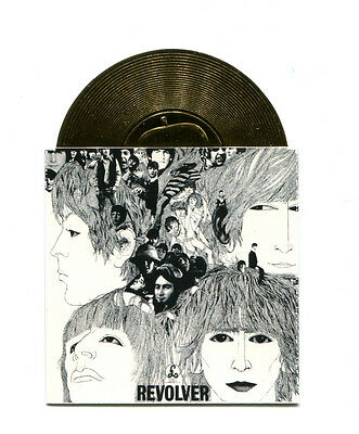 The Beatles REVOLVER GOLD RECORD 7 Sports Time Cards Insert 1996