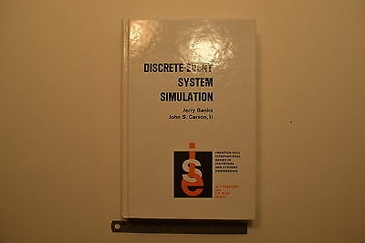#JB25 DISCRETE-EVENT SYSTEM SIMULATION Book by Jerry Banks & John S. Carson, II