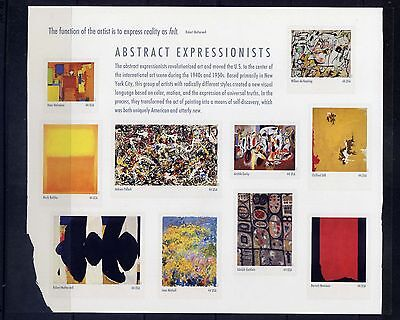UNITED STATES Sc#4444 2010 Abstract Expressionists MNH