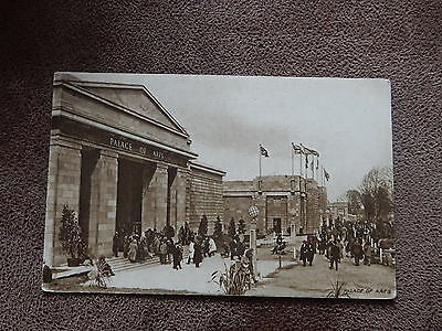 Official Postcard-1924 British Empire Exhibition -Wembley London-Palace of Arts