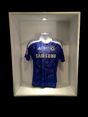 Chelsea Squad Signed Champions League Final Shirt 2012 Munich