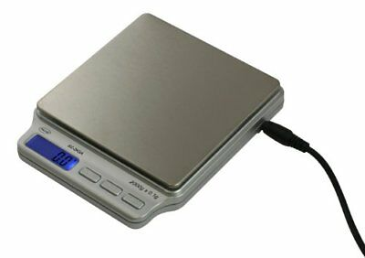 AWS SC-2KGA Digital Pocket Scale 2000 Gram x 0.1 Gram AC Adapter American Weigh