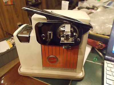 Vintage Hoover Brand can opener/sharpener 1960s FREE SHIPPING