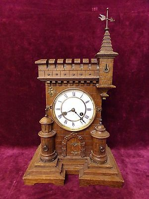 antique gothic clock