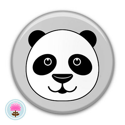 Personalised PANDA Bear Compact/Handbag/Purse/Makeup/Bag Pocket Mirror (58mm)