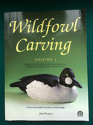"Guild of Master Craftsmen Book ""Wildfowl Carving Vol 1"" Jim Pearce"