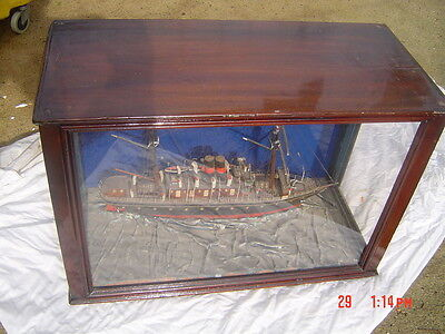 Antique Ship Model Diorama