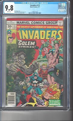 Invaders #13 CGC 9.8 White Pages Highest Graded Copy