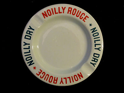 Vermouth NOILLY ROUGE / DRY Reklame Aschenbecher / Ashtray / Cendrier * 1960s