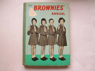 Acceptable - The Brownies Annual -  1958-01-01 Foxing/tanning to edges and/or en
