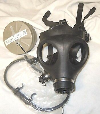 ISRAELI GAS MASK (YOUTH SIZE) w/ Drinking Straw & Filter-(NEW)  FREE SHIPPING