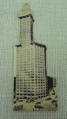Antique Smith Tower Seattle Advertisement Hunters Lodge Chinese Room rare