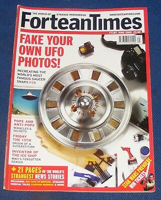 Fortean Times Ft197 June 2005 - Fake Your Own Ufo Photos!