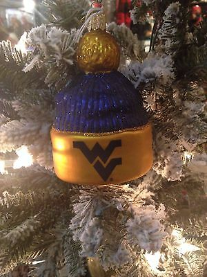 Old World Christmas Ornament-West Virginia Beanie - OLD WORLD CHRISTMAS Ornament-West Virginia Beanie - $14.99 PicClick