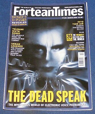 Fortean Times Ft194 March 2005 -  The Dead Speak