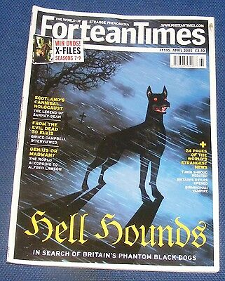 Fortean Times Ft195 April 2005 -  Hell Hounds