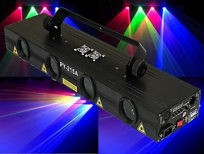 1000mW RGRB 4 LENSES DMX/Sound/AUTO DJ Laser for Disco/Pub/Bar/Club/Party